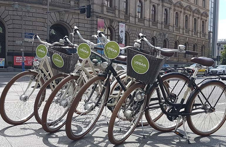 Unsere City-Bikes in Berlin
