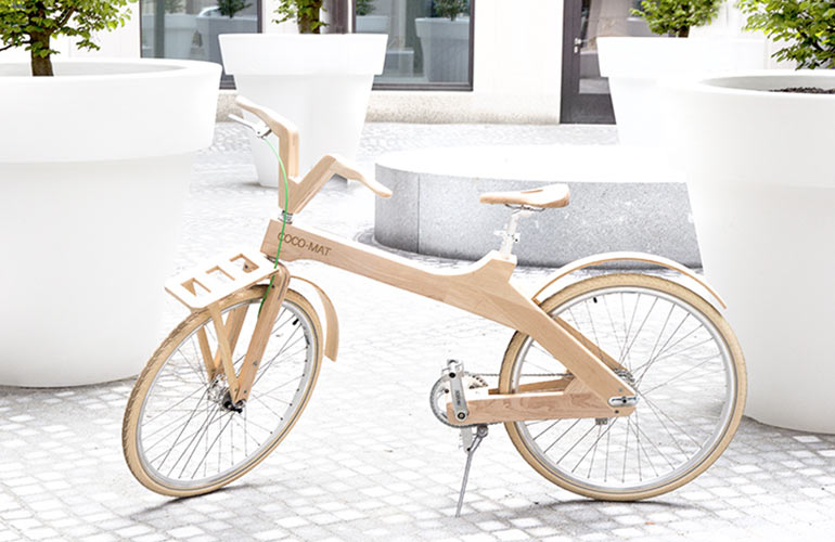 Unsere Woody-Bikes von COCO-MAT